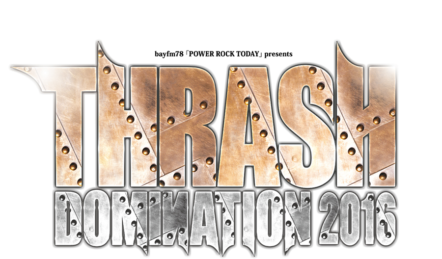 THRASH DOMINATION 2016 logo