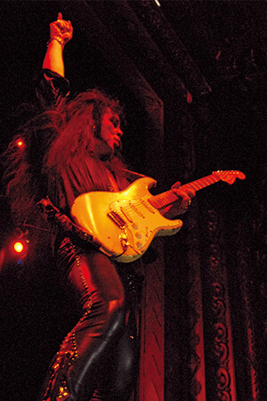 YNGWIE MALMSTEEN. 2014, WILLIAM HAMES
