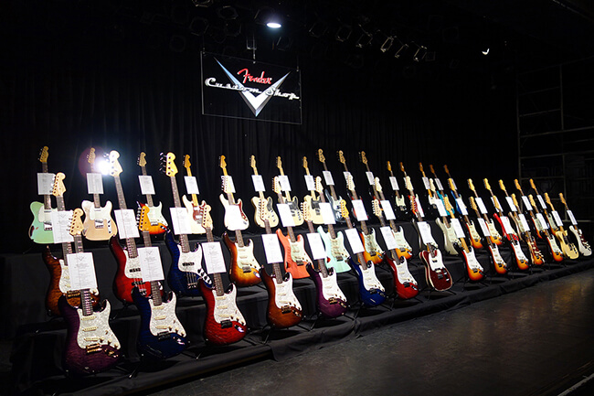 "FENDER CUSTOM SHOP ""Masterbuilt""シリーズ"