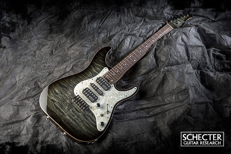 SCHECTER:SD-DX-24-AS-FXD/R