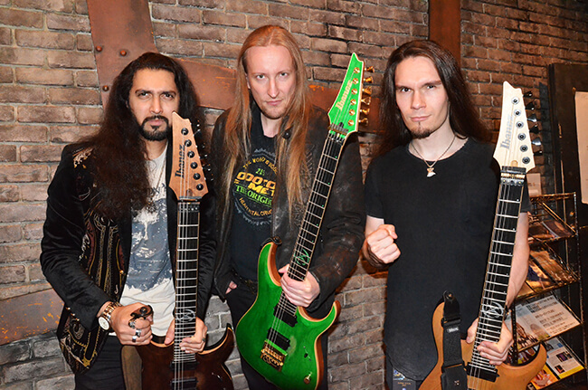 WINTERSUN - Jari and Guitar team