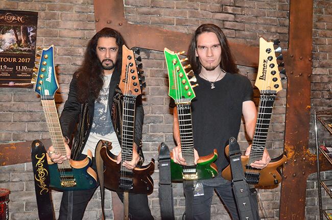 WINTERSUN - Guitars