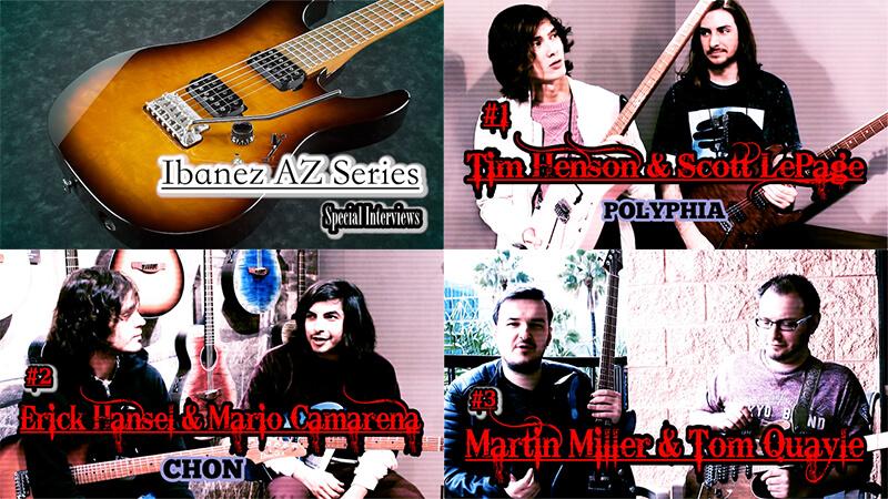 Ibanez - AZ series