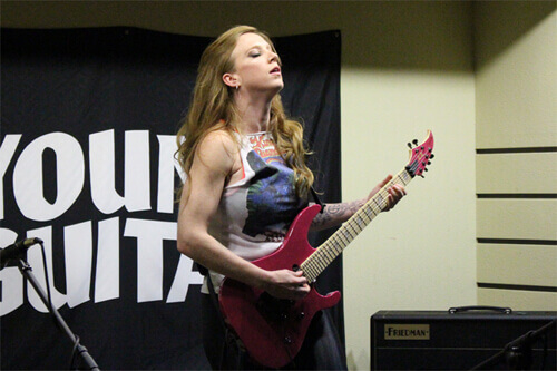 Courtney Cox Guitar Clinic in Japan 2018.4.20 - 1