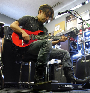 イベント:ISAOxSpider Valveギター・クリニック・レポート