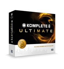 DAW:ソフトウェア音源KOMPLETE8 ULTIMATEが登場