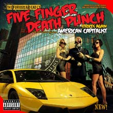 FIVE FINGER DEATH PUNCH - AMERICAN CAPITALYST