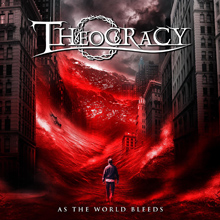 AS THE WORLD BLEEDS/THEOCRACY