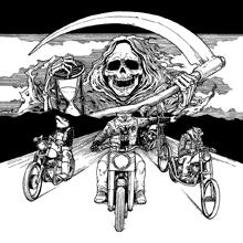 RIDE WITH DEATH/SPEEDWOLF