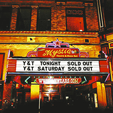 LIVE AT THE MYSTIC/Y&T