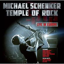 TEMPLE OF ROCK – LIVE IN EUROPE/MICHAEL SCHENKER