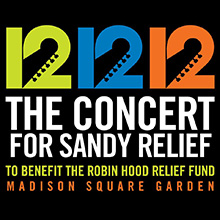 12.12.12 THE CONCERT FOR SANDY RELIEF/V.A.