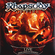 LIVE – FROM CHAOS TO ETERNITY/RHAPSODY OF FIRE