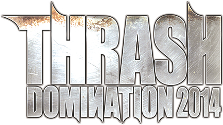THRASH DOMINATION 2014 LOGO