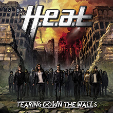 TEARING DOWN THE WALLS/H.E.A.T