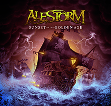 SUNSET ON THE GOLDEN AGE/ALESTORM