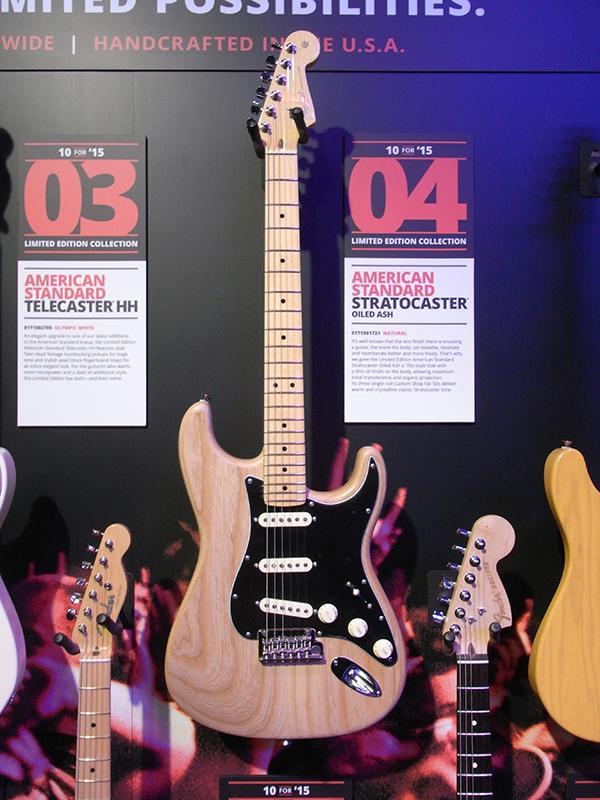 NAMM 2015 新製品レポート:フェンダー / Fender