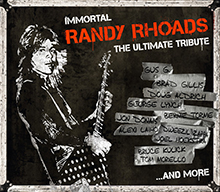 IMMORTAL RANDY RHOADS THE ULTIMATE TRIBUTE/V.A.
