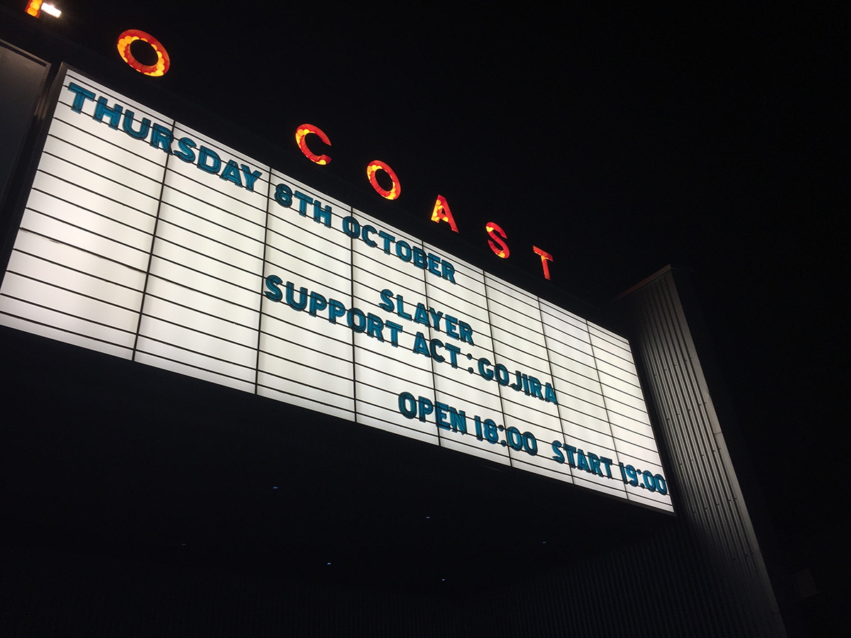 スレイヤー 2015.10.8 新木場スタジオコースト 1