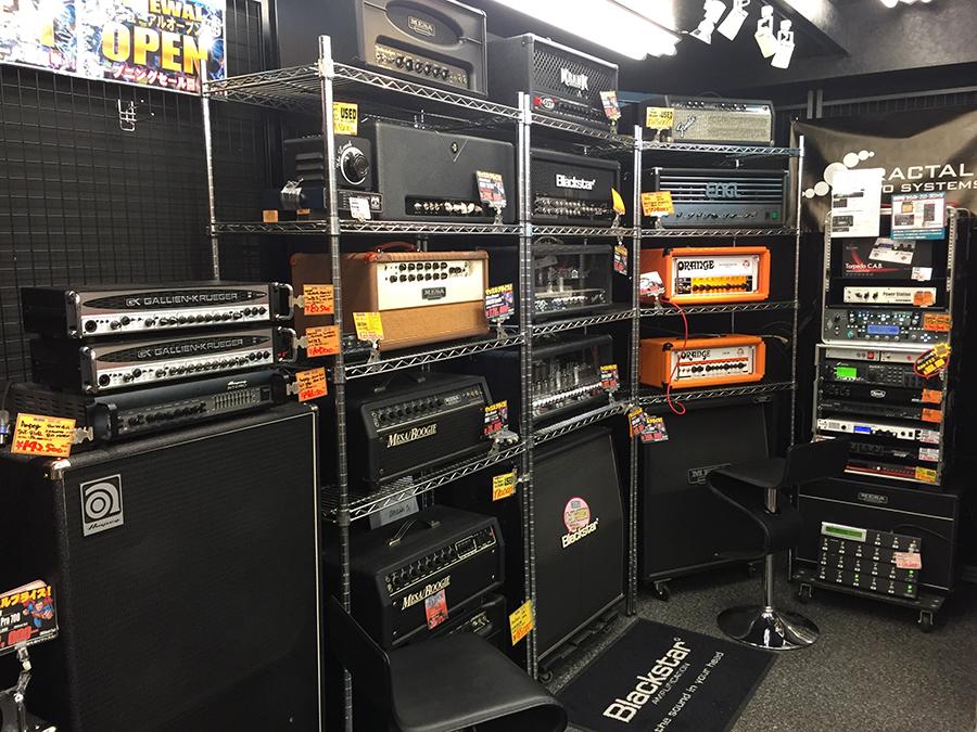 BIG BOSSのアンプ&エフェクター専門フロア SOUND LINERがリニューアル・オープン!