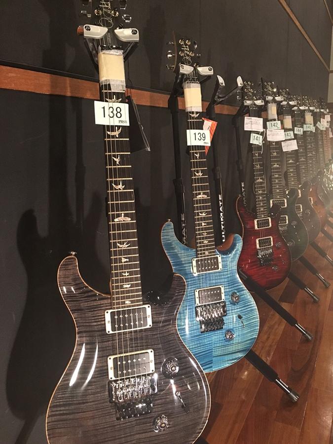 PRS Guitars国内選定会の様子をフォト・ギャラリーでお届け!