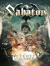 HEROES ON TOUR/SABATON