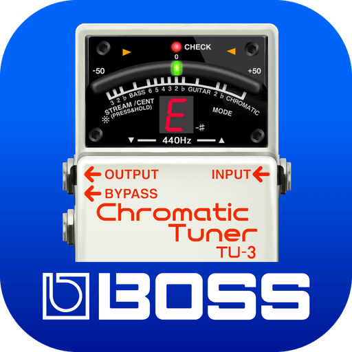 "BOSSのチューナーから生まれたスマートフォン・アプリ""BOSS TUNER""が登場!"