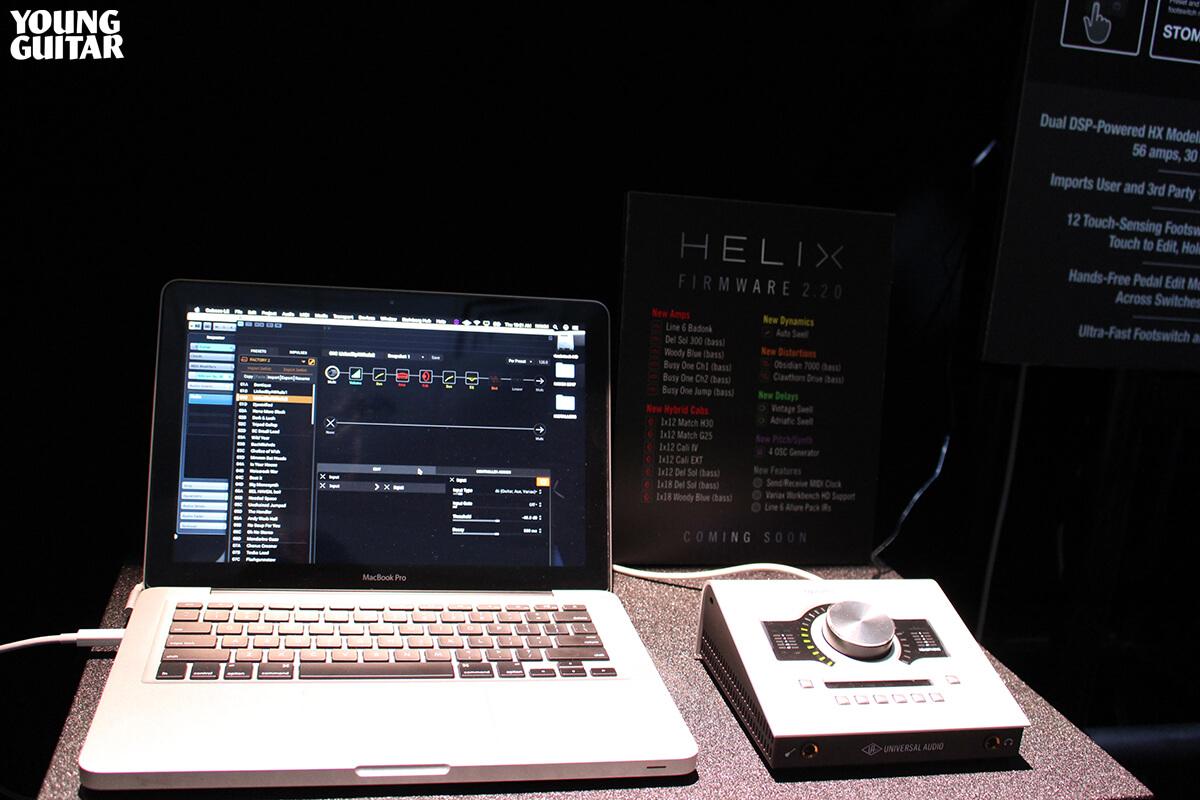 "LIne 6 ""Helix"" (Firmware 2.20)"