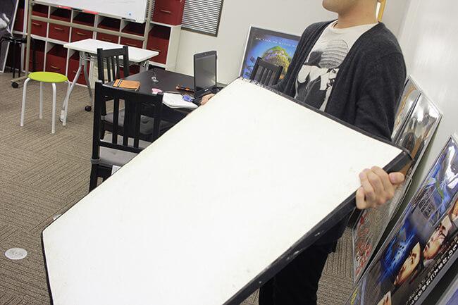 ドキュメンタリー動画の撮影でレフ板を上手く使いたい!