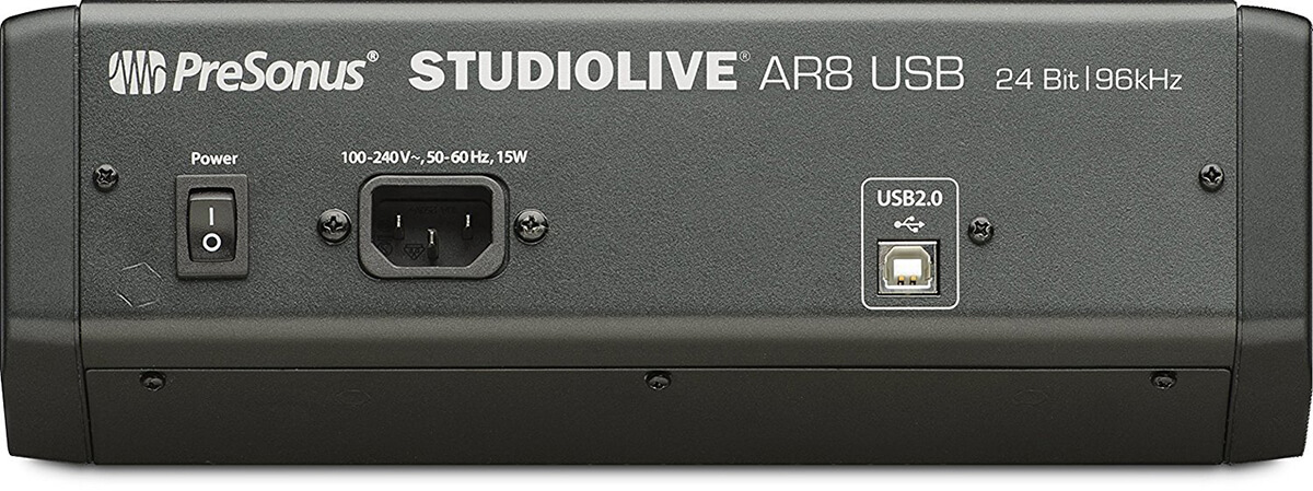 StudioLive AR8 USB Side
