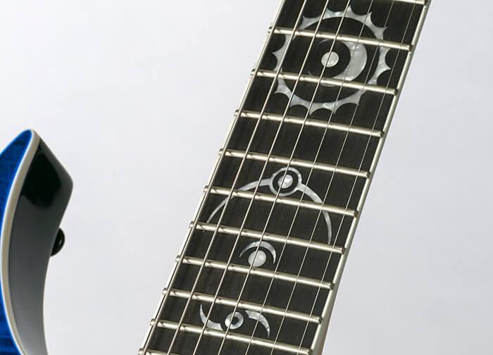 DEAN GUITARS Rusty Cooley 7 String Flame Top TBL W/C 拡大3