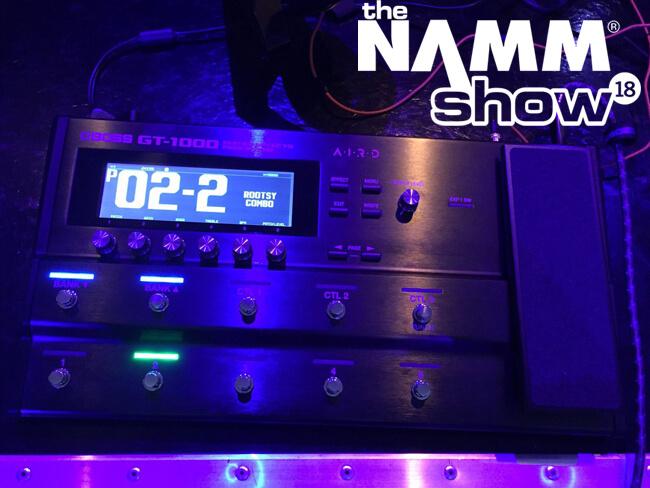 NAMM2018 ツイッターまとめ:その2(1日目)