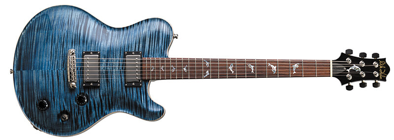 Nik Huber Guitars:Dolphin II Atlantic Blue