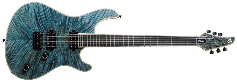Mayones Guitars:Regius 6 T-AQM-G