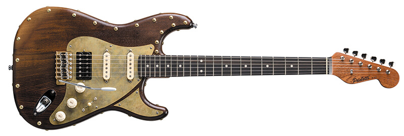 Paoletti Guitars:Stratospheric Wine HSS