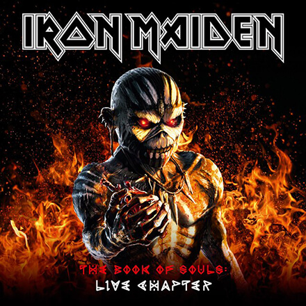 THE BOOK OF SOULS:LIVE CHAPTER/IRON MAIDEN