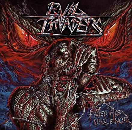 FEED ME VIOLENCE/EVIL INVADERS