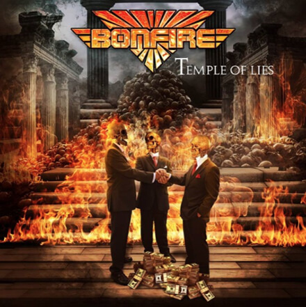 TEMPLE OF LIES/BONFIRE