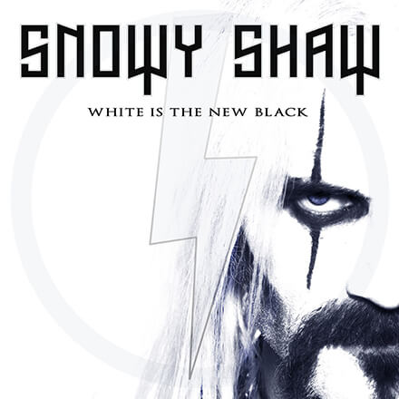 WHITE IS THE NEW BLACK/SNOWY SHAW – シアトリカル&ホラー・テイストのパワー・メタル