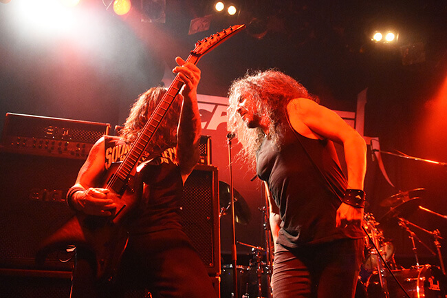 DEATH ANGEL - Rob & Mark