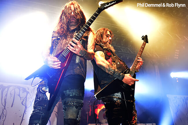 MACHINE HEAD - Phil & Rob