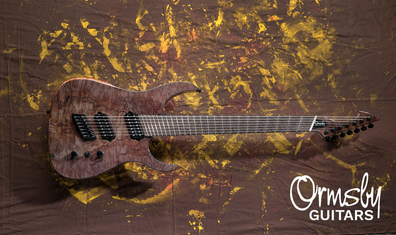 Ormsby Guitars:Hypemachine 7 CTM SM