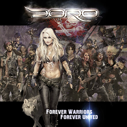 FOREVER WARRIORS, FOREVER UNITED/DORO 正統派ヘヴィ・メタルを貫くハスキー・ヴォイス