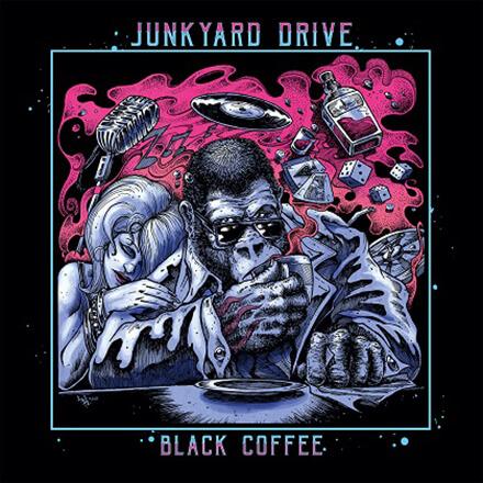 BLACK COFFEE/JUNKYARD DRIVE GN'Rの熱と北欧の柔らかさを備えたスリージー・ハード・ロッカー