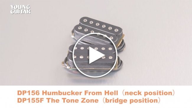 DP156 Humbucker From Hell&DP155F The Tone Zone