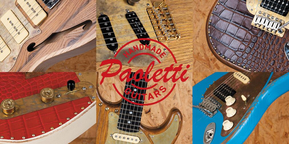 パオレッティ・ギターズ7機種を岡 聡志が徹底試奏! ヤング・ギター2019年5月号