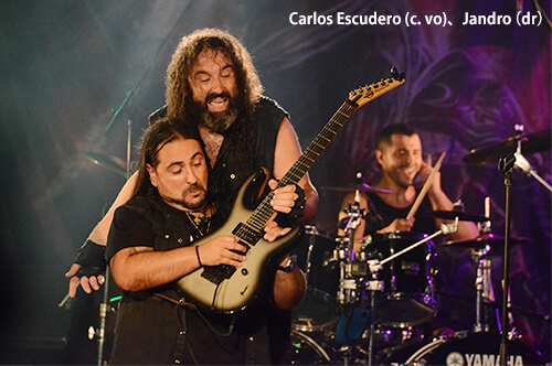 カルロス、ペドロ、ハンドロ