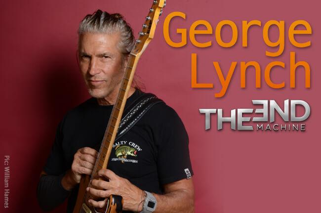 巨匠ジョージ・リンチが個性漲る奏法アイデアを披露!! ヤング・ギター2019年5月号