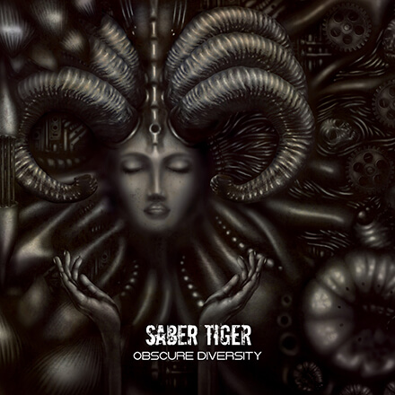 OBSCURE DIVERSITY/SABER TIGER 枯れとは無縁の重厚金属質楽曲
