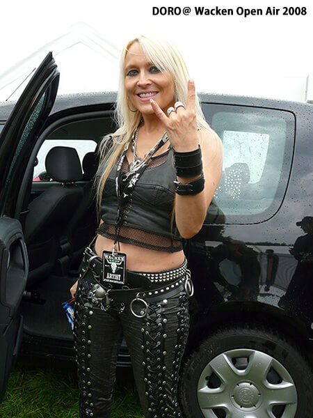 DORO@ Wacken Open Air 2008